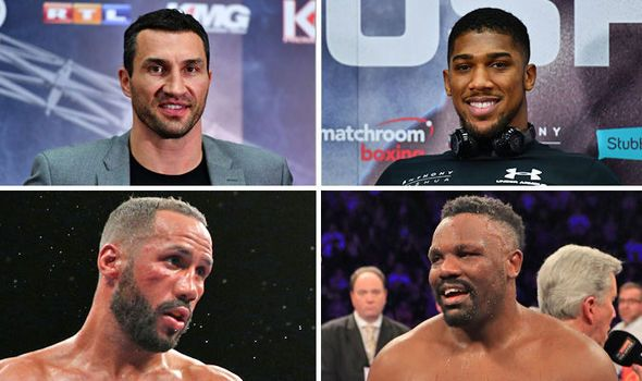 Boxing in 2017: Five MASSIVE fights that could define the year including Anthony Joshua