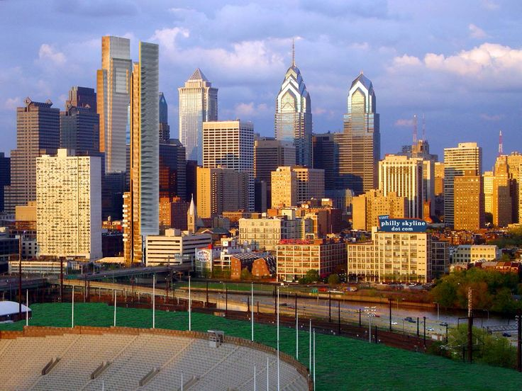 Philadelphia, Pennsylvania. I came here on a road trip at age 19 with a boyfriend who was stationed on the east coast in the Navy.  Cool town.  Lots of history.