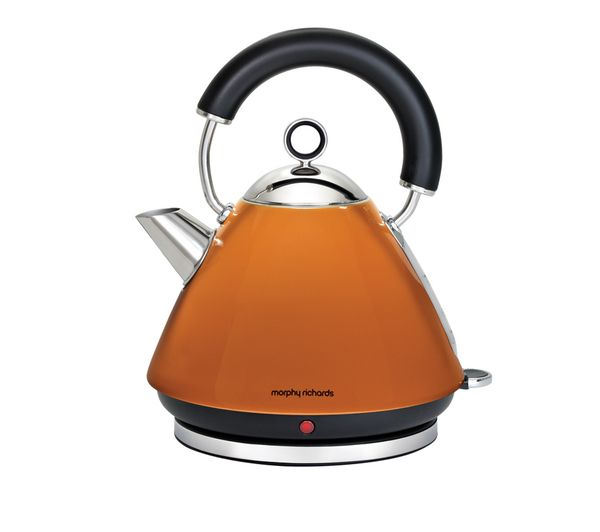 Accents 43828 Pyramid Traditional Kettle - Orange