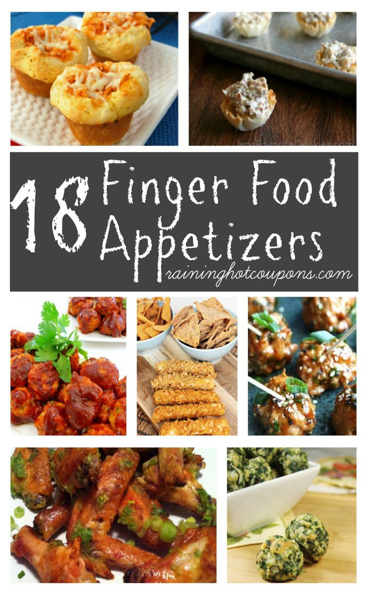 18 Finger Food Appetizers