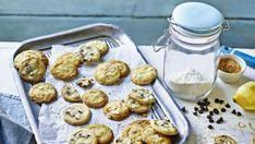 Mary Berry Lemon almond chocolate Mini three-way biscuits