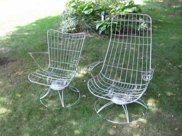 silver patio Outdoor chairs, Outdoor decor, House exterior