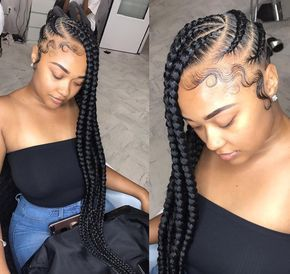 Flawless braids by @geminitwinshauwny - https://blackhairinformation.com/hairstyle-gallery/flawless-braids-geminitwinshauwny/