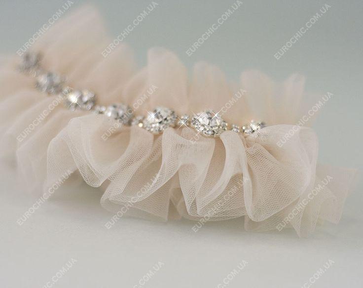 Подвязка невесты Magnetic Nude