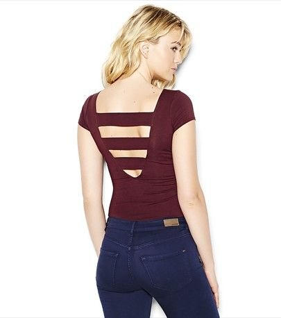 Banded Back Tee