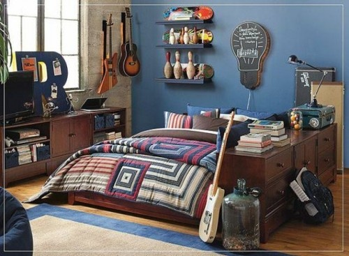 27 best images about boys bedroom on pinterest for Music bedroom designs