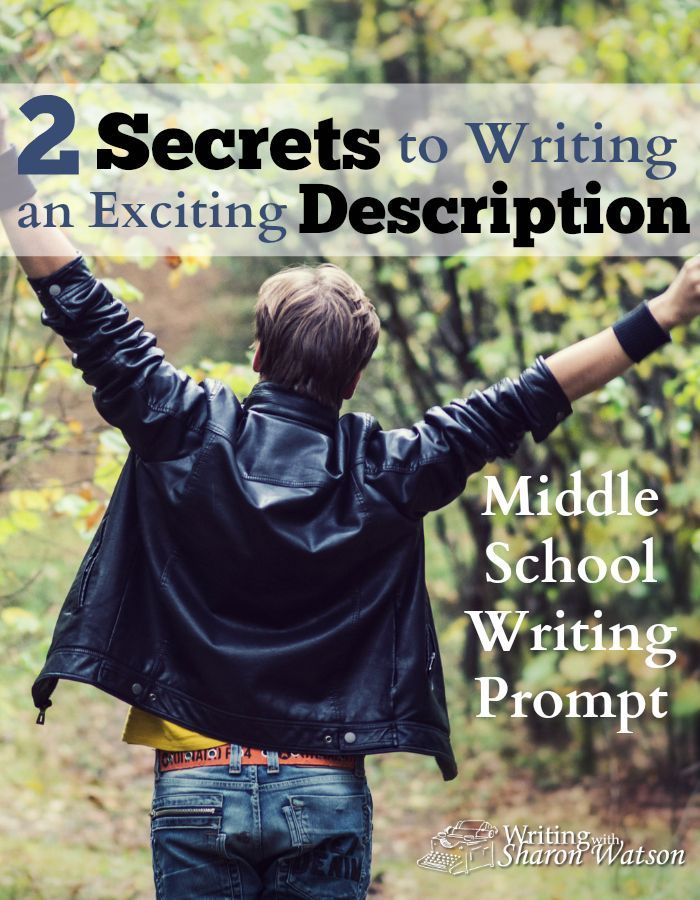 Middle school creative writing prompts