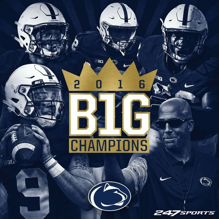 SHARE if you're going a little crazy tonight, Penn State Football fans!  The biggest comeback in Big Ten Conference championship history.