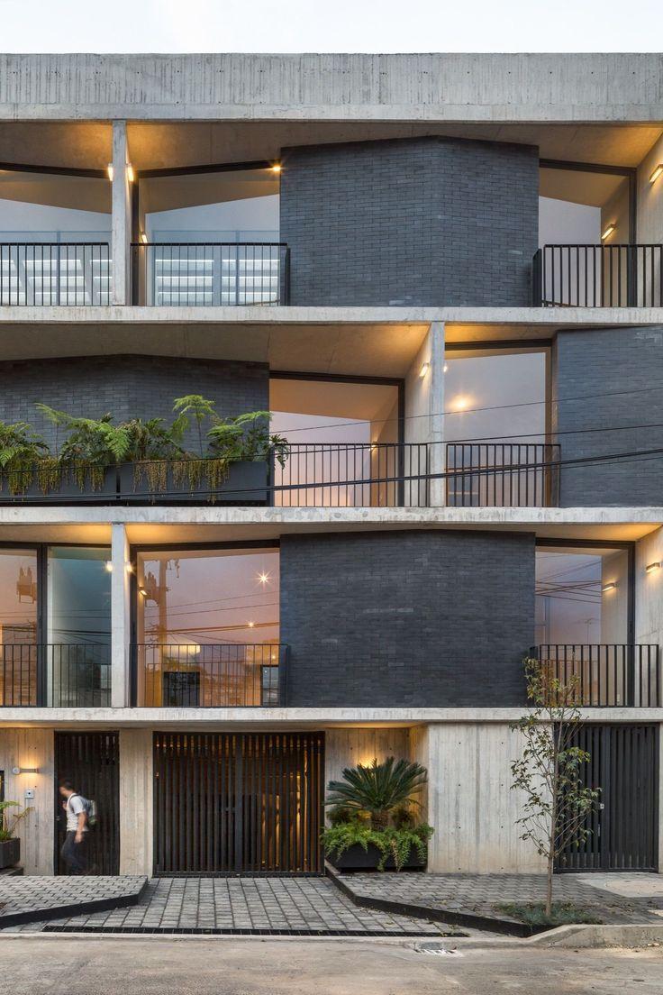 fernanda canales gonzález arquitecto / vivienda portales, méxico df