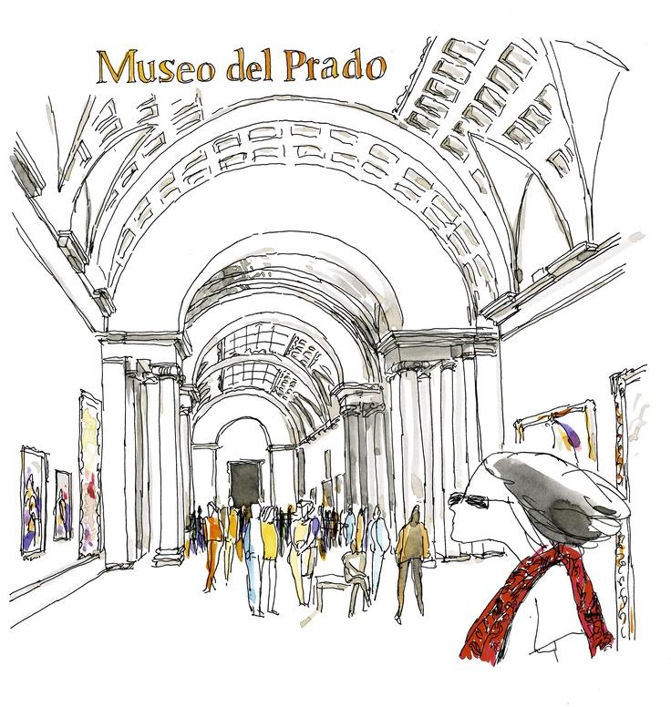 El Prado Museum. Madrid.