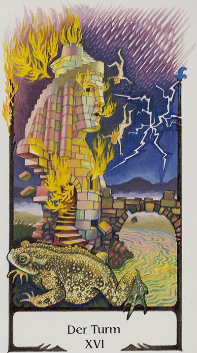The Tower - Tarot Of The Old Path