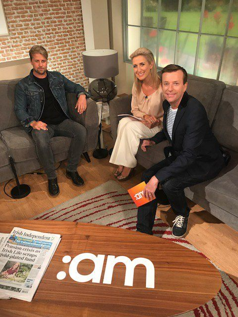 "Ireland AM on Twitter: ""Look who's here!! It's @KianEganWL he's here chatting about life after Westlife & what's in store for him in the future!! #IrlAM https://t.co/at5TYxRE8O"""