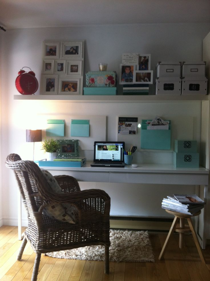 123 best images about desk ideas on pinterest 17304 | a254c7799808eae34d5af9d0cf1fd123 shelves above desk small home offices
