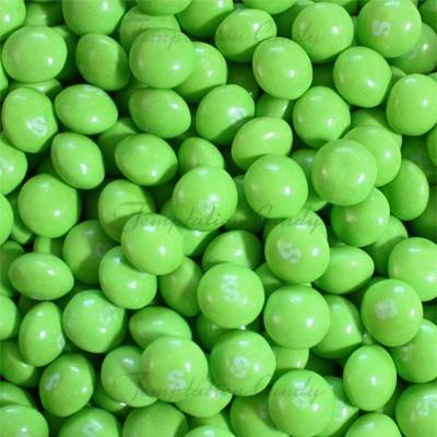 Tropical Green Skittles. #Skittles #Green