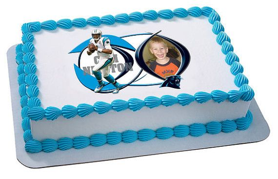 NFL Football Players Cam Newton Carolina by CakesPopsCupcakes, $7.95