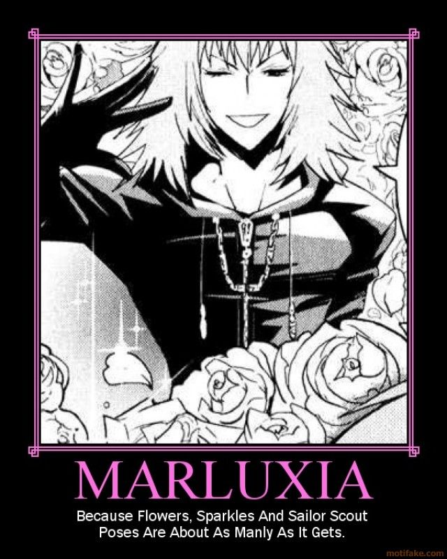 Kingdom hearts: MARLUXIA Manly