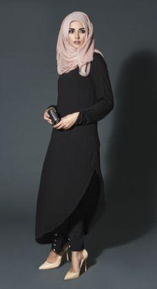 Hijab Fashion 2016/2017: Sélection de looks tendances spécial voilées Look Descreption What's New | Aab