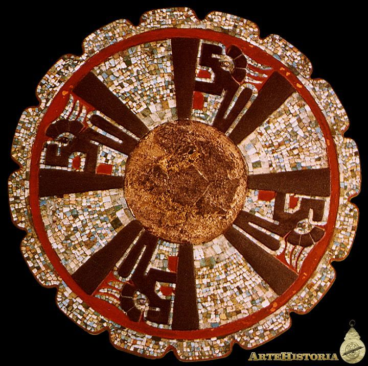 Disco alusivo al culto solar. Cultura Maya (Chichén Itzá, México) Autor: Fecha: 1000-1190 Museo: Museo Nacional de Antropología de México