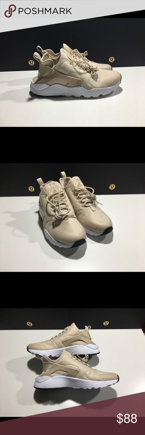 Women's Nike Air Huarache Ultra NEW 819151 OATMEAL Brand new in box, missing the top. Color way is oatmeal / linen white Nike Shoes Athletic Shoes