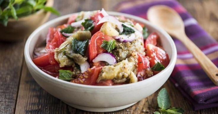 Еще один аппетитный вегетарианский салатик, вкусняшка!