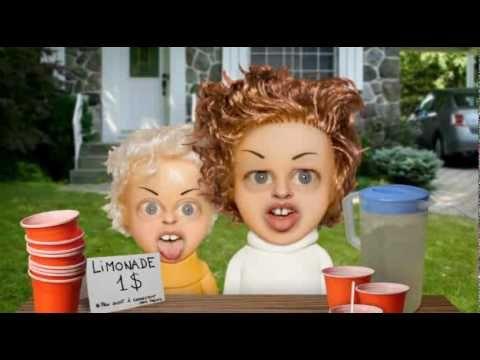 stand de limonade les tete a claque - YouTube