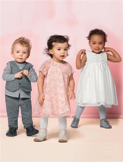 #Robe de #cérémonie #bébé fille - Collection Automne-Hiver 2015 - www.vertbaudet.fr
