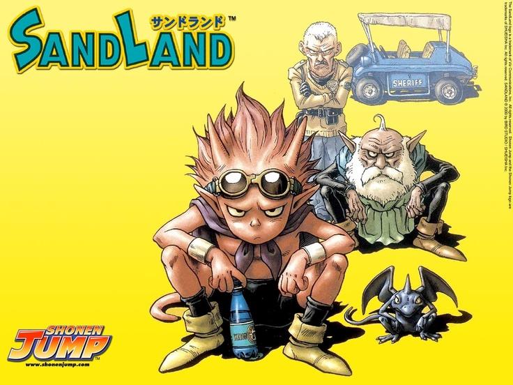 Sandland  Anime/Manga  Pinterest  Dragon quest, Dragon ...