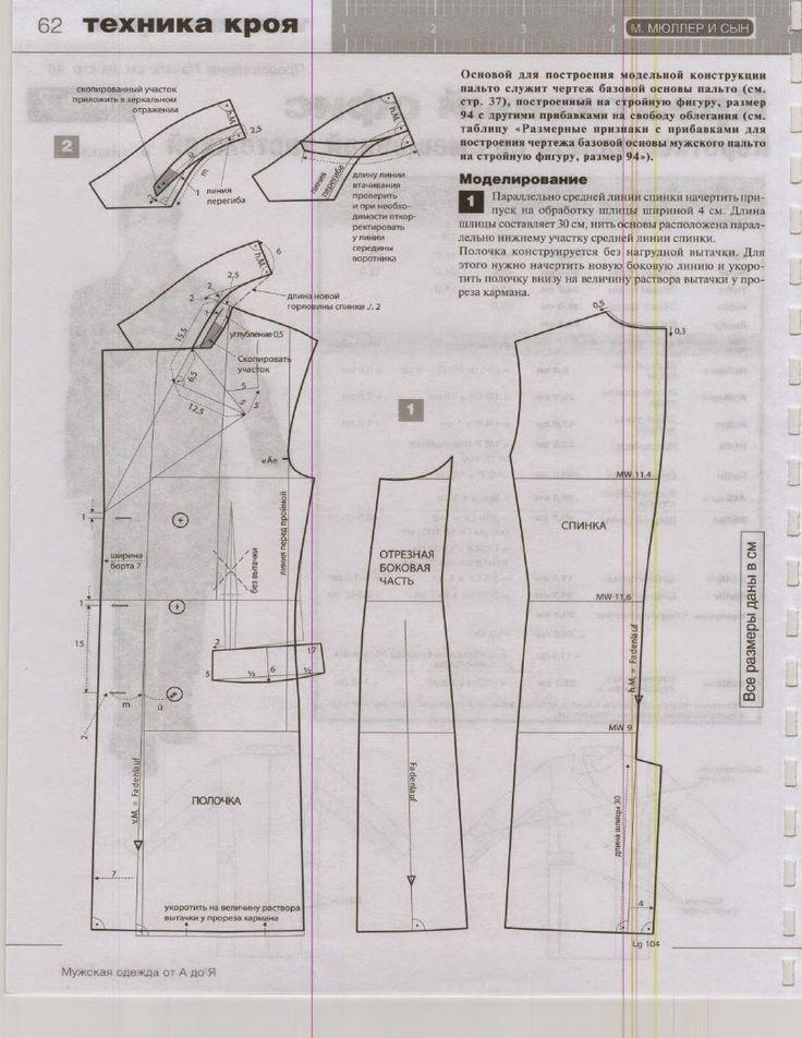 modelist kitapları: М. Мюллер и сын - Техника кроя. Мужская одежда от А до Я (Ателье) - 2010