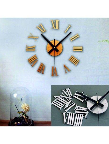 Moderní hodiny v různých barvách pro dokonalou stěnu přímo od výrobce.  Hodiny jsou vyrobeny z akrylového skla / plexiskla / PMMA. Tento materiál / plexisklo / má moderní a estetický vzhled, je snadné a 6 krát silnější než obyčejné sklo. Plexisklo je pružný materiál dokonalý na výrobu kreativních doplňků. Je výborným dekorativním doplňkem a dokonale odráží sluneční světlo. Díky své odolnosti vůči UV záření a vlastnostem materiálu nevyžaduje zvláštní údržbu a velmi dlouho si zachovává svůj…