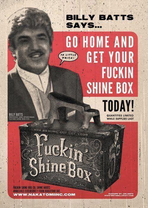 Goodfellas - Get your shine box!