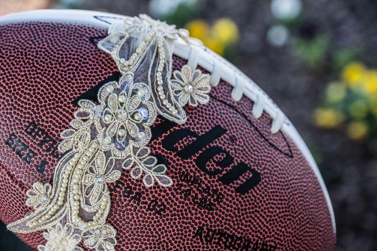 Wedding Garter Football Toss