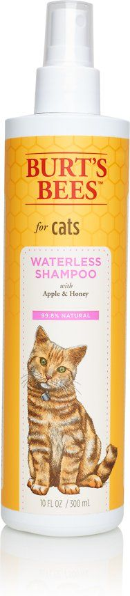 Burts Bees, Natural waterless cat shampoo                                                                                                                                                                                 More