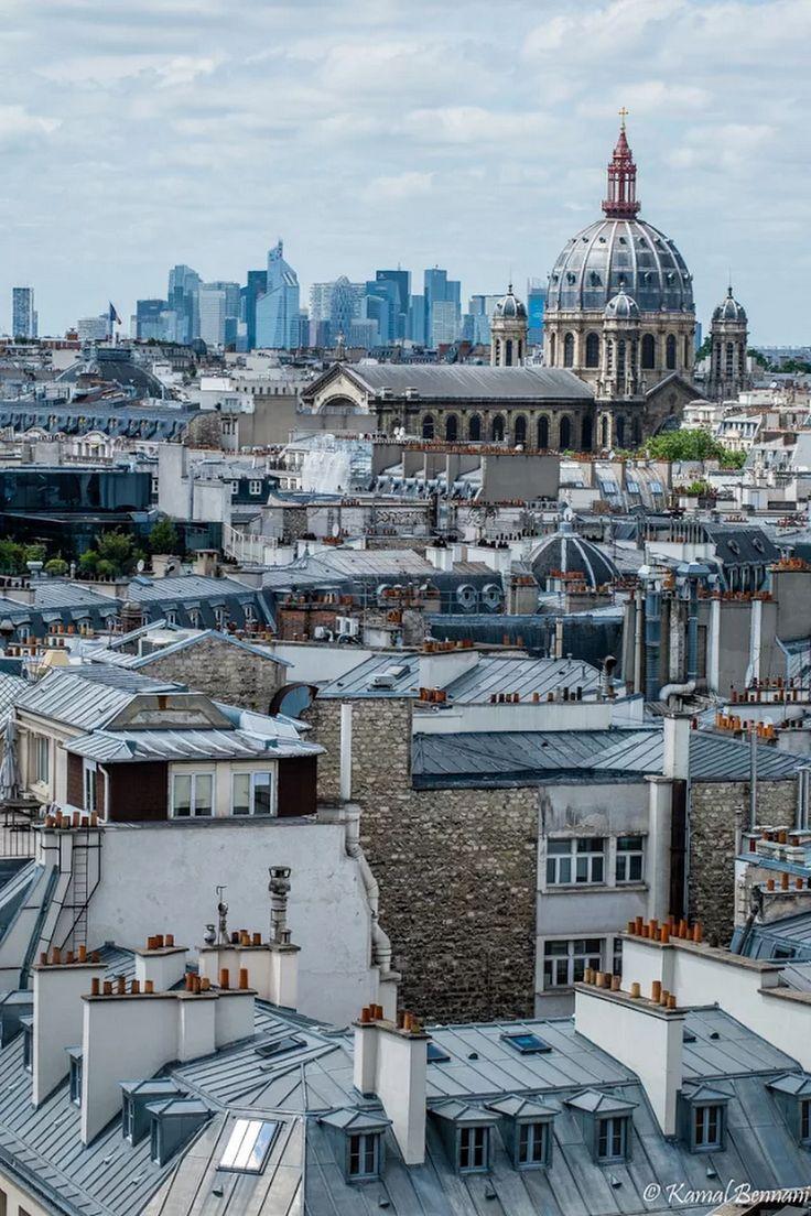 Les toits de Paris.