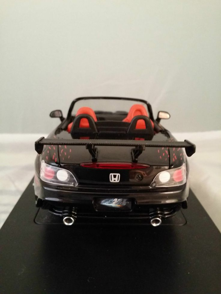 ertl 1 18 honda s2000 fast and furious schwarz modellauto. Black Bedroom Furniture Sets. Home Design Ideas