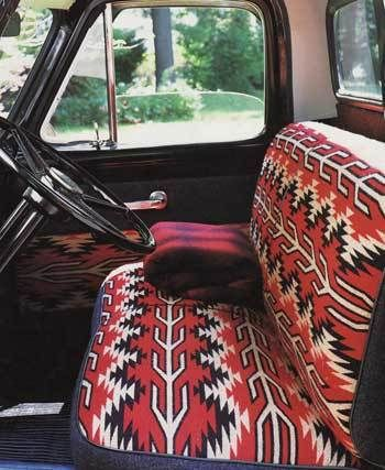 blanket upholstered seats cars pinterest trucks seat covers and cars. Black Bedroom Furniture Sets. Home Design Ideas