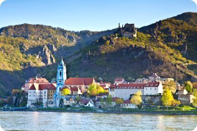 Wachau Valley Tommorow by boat.