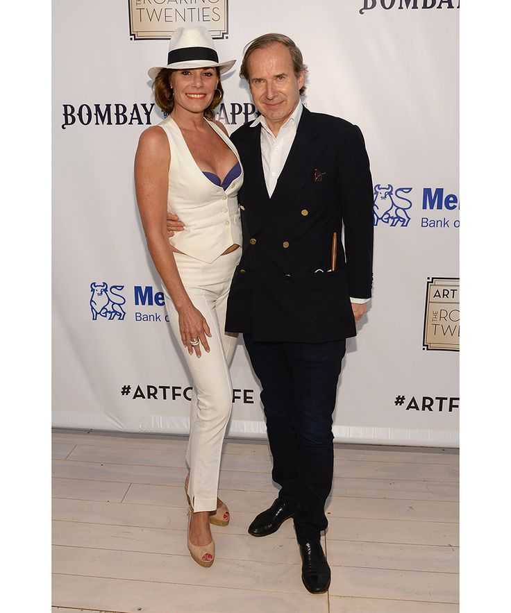 The Roaring Twenties-themed event—hosted by Rush Philanthropic Arts Foundation's founders Russell Simmons, Danny Simmons and Joseph Simmons—raised funds to support arts programming for inner city youth. Pictured above, LuAnn de Lesseps, Simon de Pury.