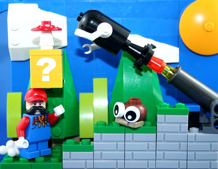 https://flic.kr/p/HkjzBw | Lego Mario | See a picture you would like to have as a shirt? www.redbubble.com/people/xxdeadmanzz/portfolio