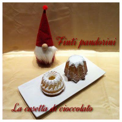 la casetta di cioccolato: Finti pandorini