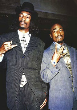 Snoop & Tupac (Poster) $10 i always thought this was funny