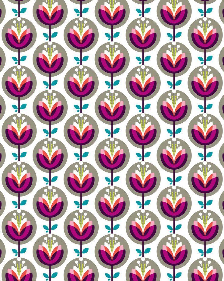 Boda Blomma Wrap - Kelly Hyatt   Lagom Design