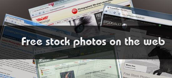 For any budding graphic designers or web designers out there who need some free stock photos ---
