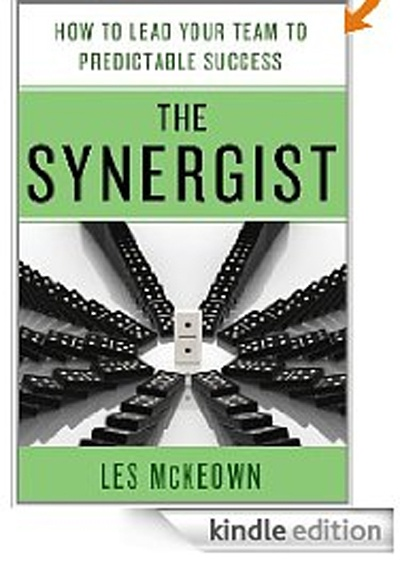 The Synergist  by Les MeKeowm.  MUST READ business book for 2012. This will be helpful with your own team or working on any project with a diverse group of contributors,: Bus Stacking, Worth Reading, Kindle Ebook, Les Mckeown, Predictions Success, Books Worth, Achievement Compromi, Bestselling Author, Lesmckeown