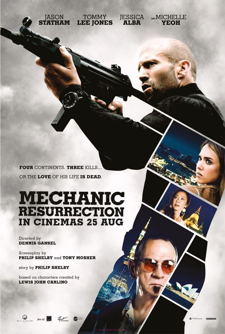 Mechanic Resurrection - Movie Poster #Movie #Cinema