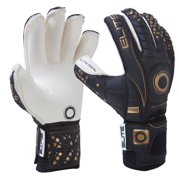 Elite Real 16 Goalkeeper Glove - Soccer Goalkeeper jerseys and equipment at WorldSoccerShop.com