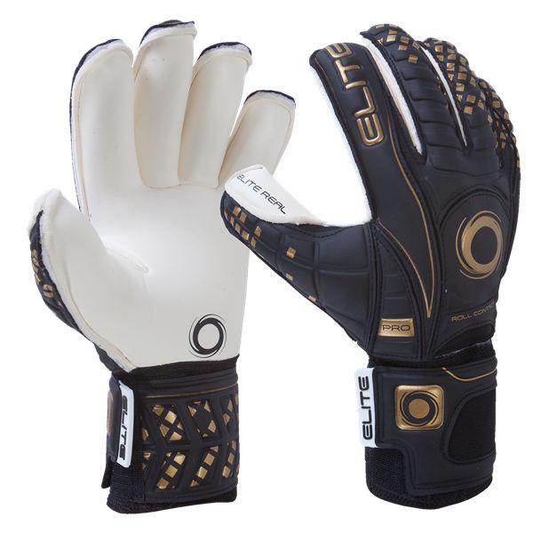 Elite Real 16 Goalkeeper Glove - Soccer Goalkeeper jerseys and equipment at WorldSoccerShop.com