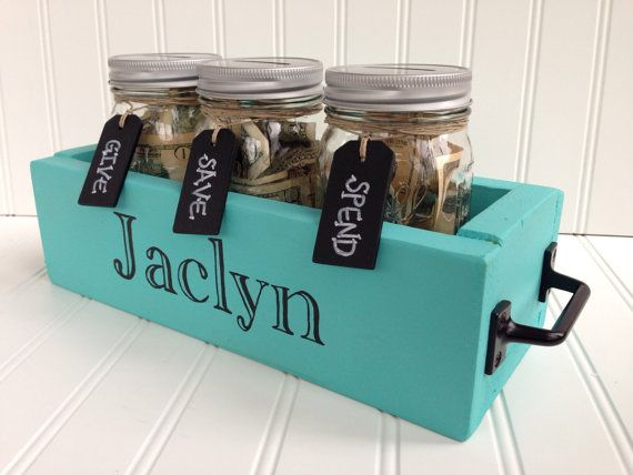 17 best ideas about coin jar on pinterest money hacks for Money saving box ideas
