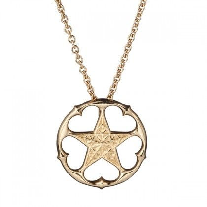 Kalevala Koru / Kalevala Jewelry / MICHAEL MONROE A STAR ALL HEART PENDANT /  Material: bronze