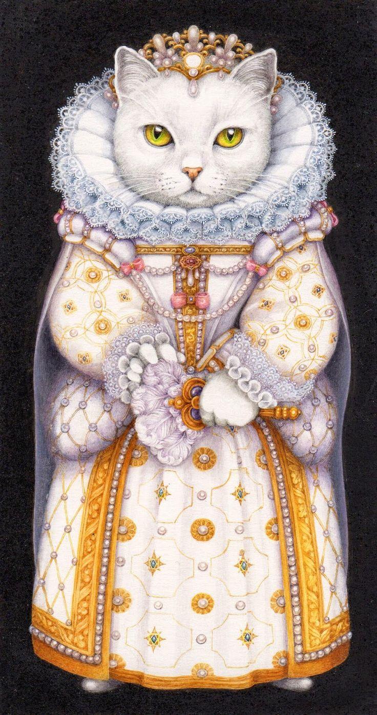 Illustration by Pauline Ellison (British, b. 1946)
