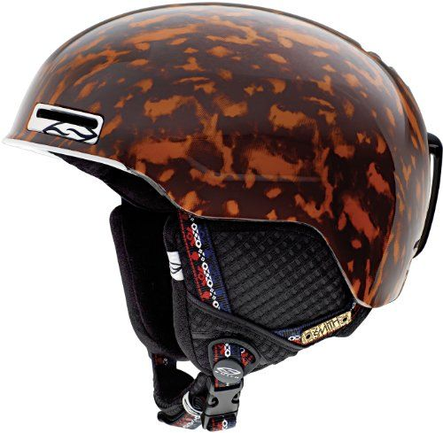 Smith Optics Unisex Child Maze Junior Snow Sports Helmet (Tort Picture This, Youth) -- Click image to review more details.